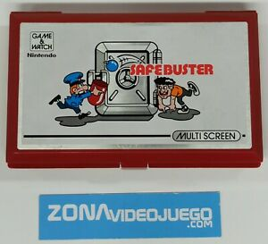 Juego electronico LCD, Game & Watch Safe Buster JB-63, Nintendo.