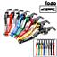 CNC-Short-Adjustable-Levers-Clutch-Brake-For-KINJA-ABC-600-F2-F3-F4-F4i-91-07 thumbnail 1
