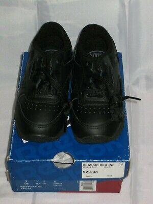 Reebok Classic J90144 BLACK TODDLERS KIDS Shoes
