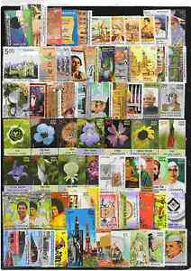 India-2013-Unmounted-Complete-Mint-72-Stamps-Year-Set