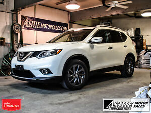 2016 Nissan Rogue SL * AWD * LEATHER/HEATED SEATS * PANO ROOF * NAV