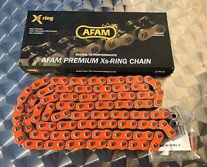 AFAM-Kette-525-XHR3-orange-120-Glieder-KTM-950-Adventure-LC8-990-1190-neu