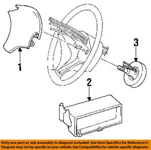 CHRYSLER-OEM-Airbag-Air-Bag-Clockspring-Clock-Spring-5093254AB
