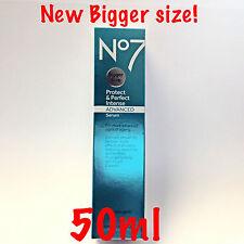 No7 Protect & Perfect Intense Advanced Serum 50ml Bigger XL Size Damaged Box