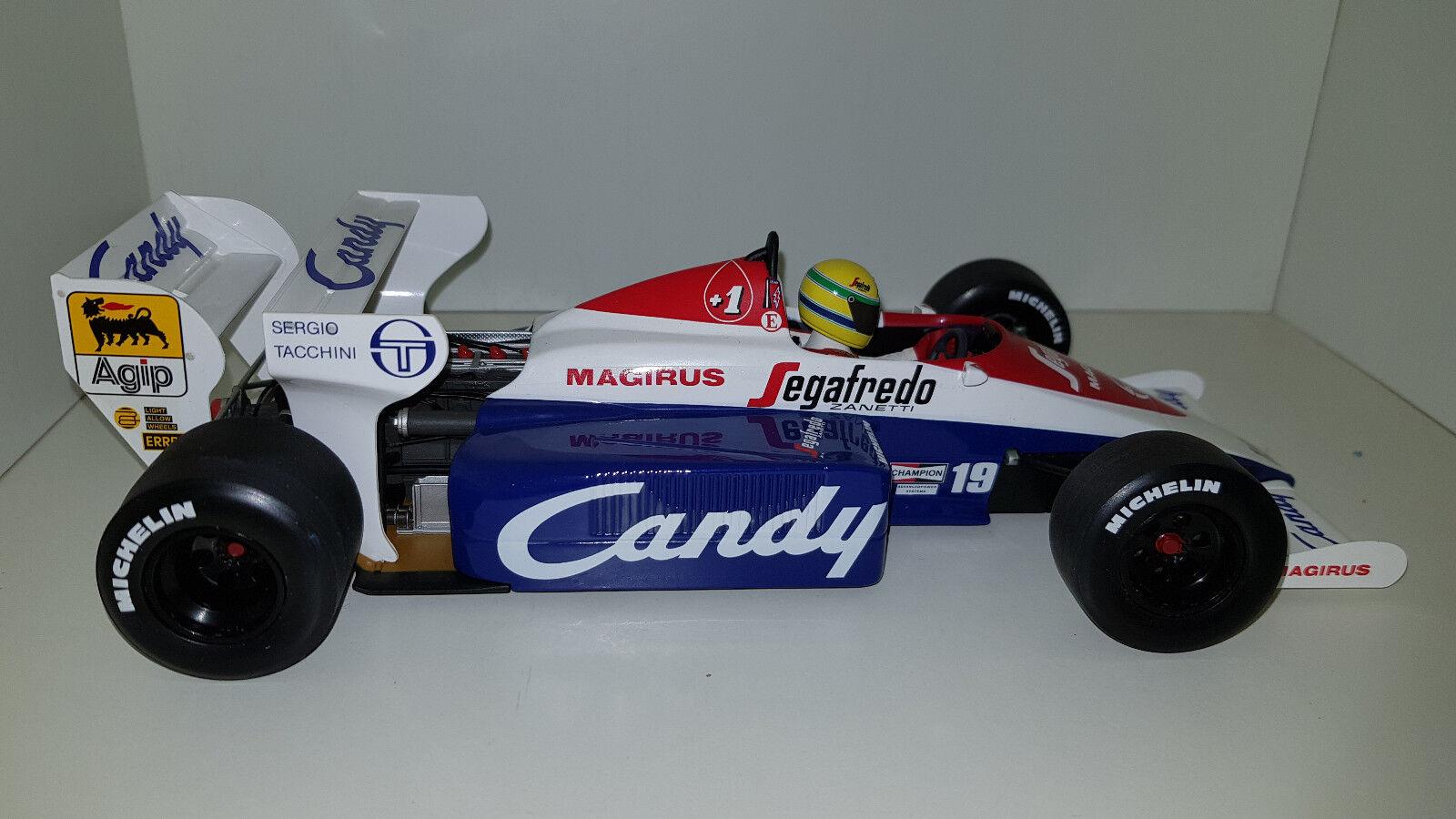 Minichamps 1 18 Ayrton Senna la TOLEMAN HART TG184 1984 540841899