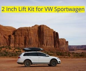 Lift-Kit-for-VW-Sportwagen-2012-2019-2-Inch-Suspension-Spacers-Off-Road-Coils