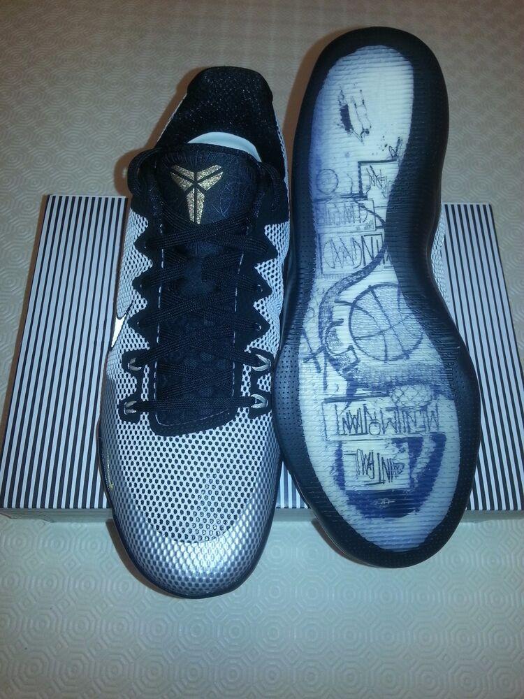 Nike Kobe 11 XI Q54 Quai 54 LMTD Limited 869600-010  Chaussures de sport pour hommes et femmes
