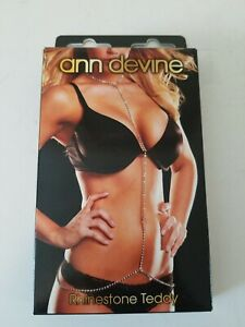Ann-Devine-Rhinestone-Teddy-Belly-Chain-Exotic-Dancer