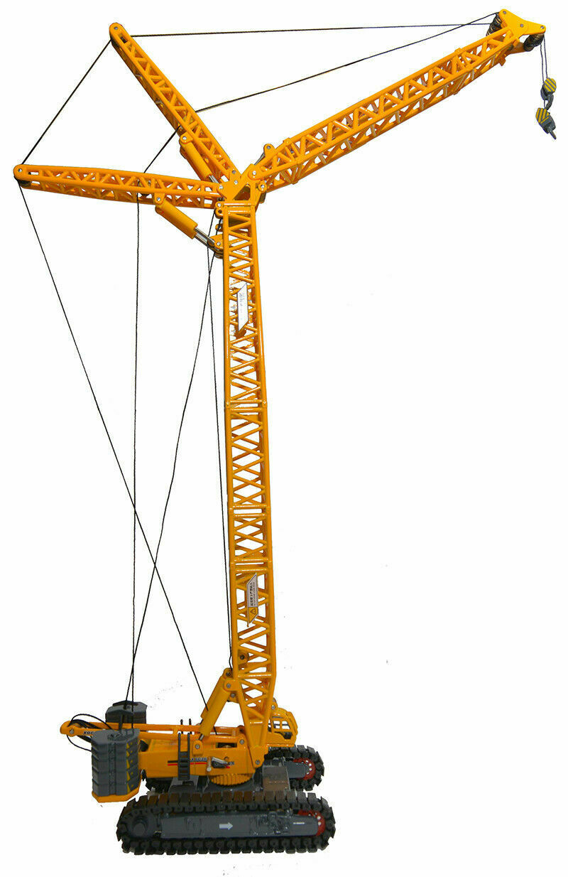 1 120 Scale Diecast Toy Toy Toy Construction Model XCMG XGC260 Crawler Tower Crane Model 8f61f3