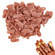 Finger   100 Piece  Flexible  Refill  Hand  Practice  Trainer  Nail  Tips For
