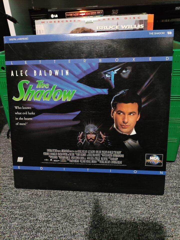 Casper Shadow, Laserdisc film, andet
