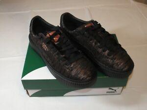 baskets noir puma femme