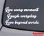 LIVE LAUGH LOVE Vinyl Decal Sticker Car Window Wall Bumper Family Friends Quote