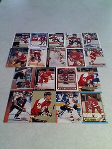Steve-Chiasson-Lot-of-100-cards-50-DIFFERENT-Hockey