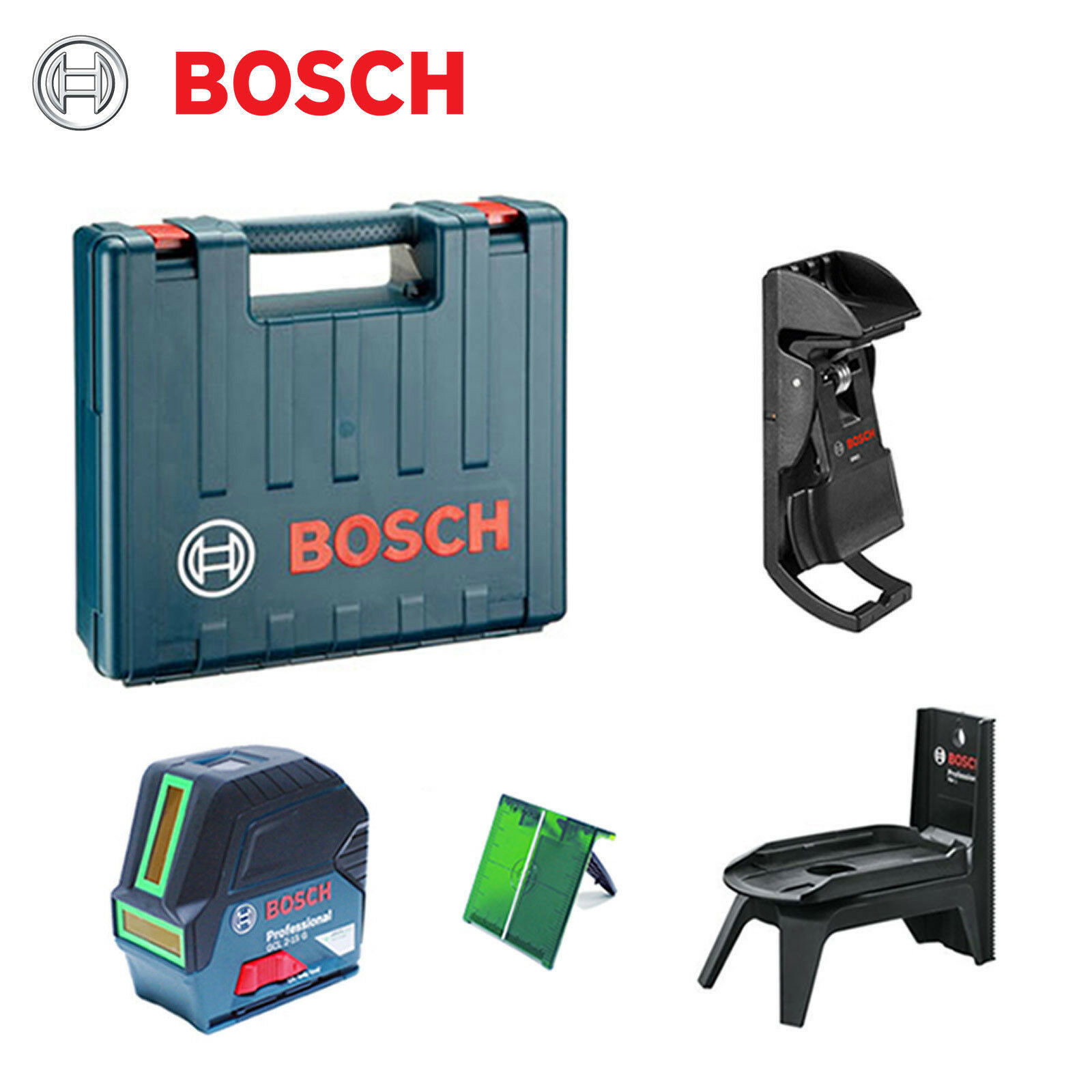 Bosch GCL2-15G Digital Professional Green Beam Laser Electrical Applianc