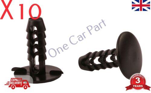 10x RENAULT  FIAT IVECO ROOF TRIM RETAINER CLIP BLACK 02081620 14592387 17887688