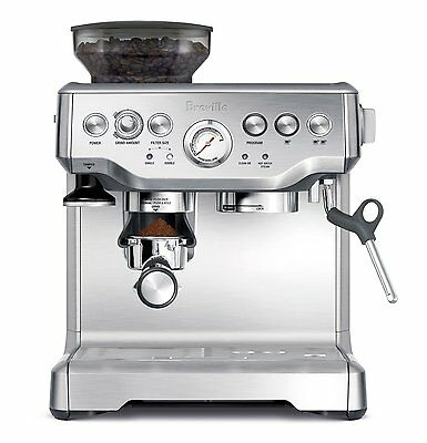 Breville BES870XL Barista Espresso - BRAND NEW WITH MANUFACTURER WARRANTY