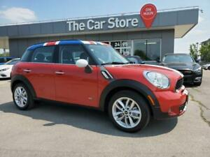 2014 MINI Cooper S Countryman ALL4 4dr S - LEATHER Sunroof 6SPD! w/ Winter Tires