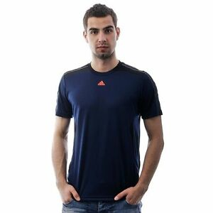 Mens Adidas Gym T Shirt Casual Running Work Out Tee Breathable
