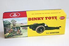 DINKY Box 693 7.2 Howitzer Box Unique Code 3 DIORAMA Design