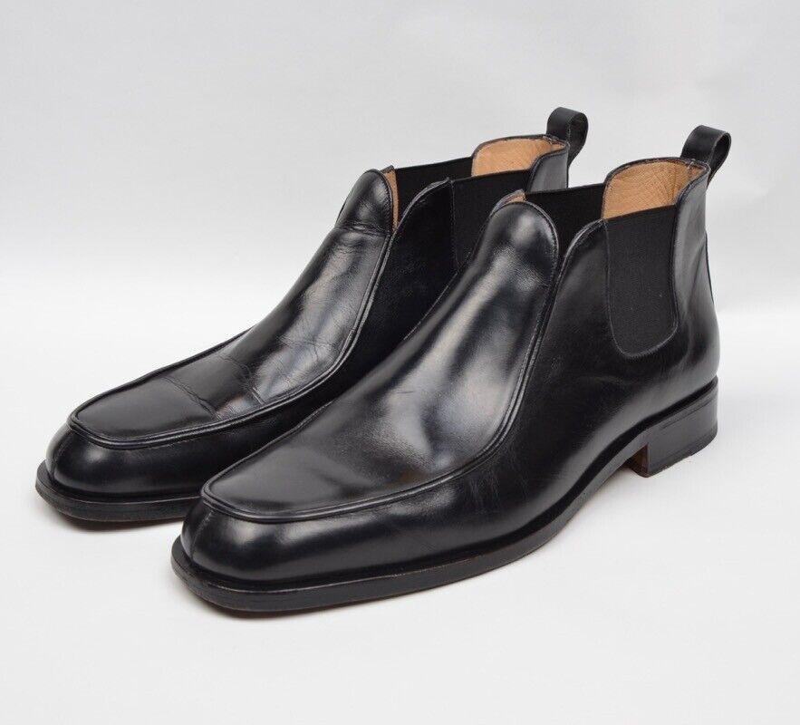 Bruno Magli botas botas Gr  2 42 43 negro negro Made  Chelsea
