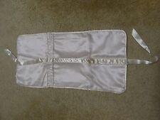Vintage Victoria's Secret Satin Garment Bag, Lingerie Intimates Light Pink