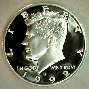 1999 S Proof SILVER Kennedy Half Dollar Coin 50 Cent JFK from US Mint Proof Set