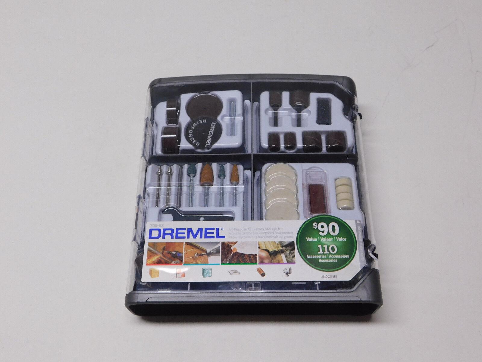 Dremel 709-02 Super Accessory Kit (110PC)