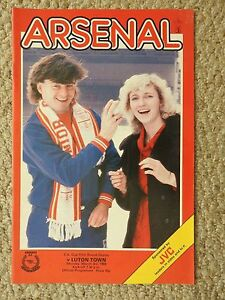 ARSENAL v LUTON TOWN FOOTBALL PROGRAMME  FA CUP 5TH ROUND REPLAY  3386 - Croydon, United Kingdom - ARSENAL v LUTON TOWN FOOTBALL PROGRAMME  FA CUP 5TH ROUND REPLAY  3386 - Croydon, United Kingdom