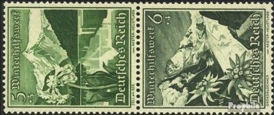 Rational German Empire S245 Unmounted Mint Never Hinged 1938 Ostlandschaften Spare No Cost At Any Cost Topical Stamps