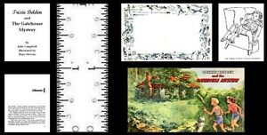 1:12 SCALE MINIATURE BOOK GATEHOUSE MYSTERY TRIXIE BELDEN DOLLHOUSE