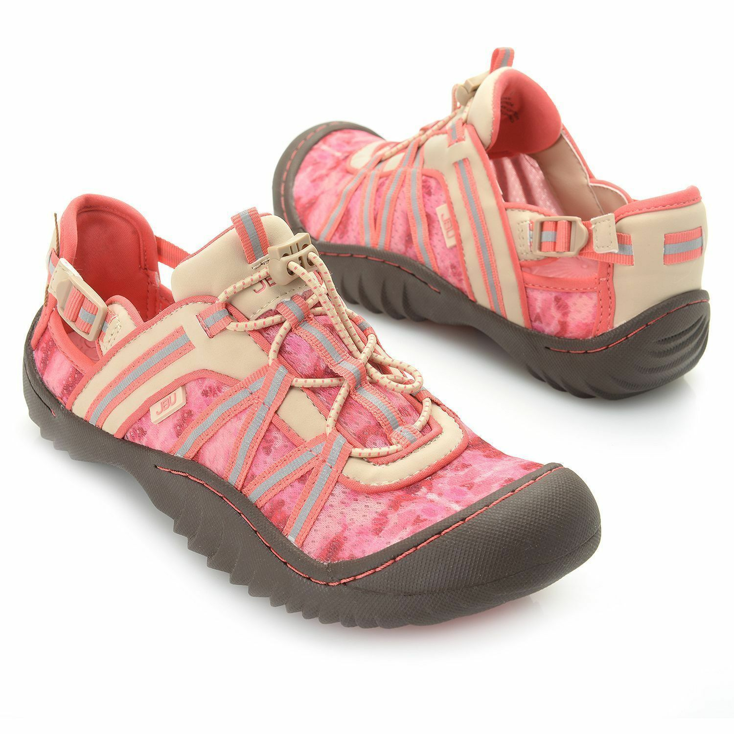 JBU by Jambu  KEEGAN   Bungee Lace chaussures TAN ROSE