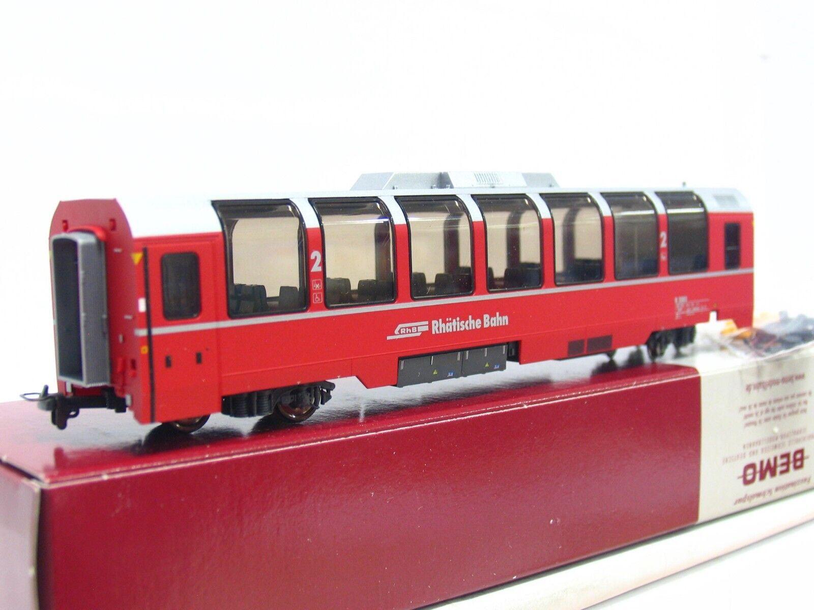 Bemo h0m 3294 103 Panorama Wagon B 2503 2. Class RhB OVP (rb3335)