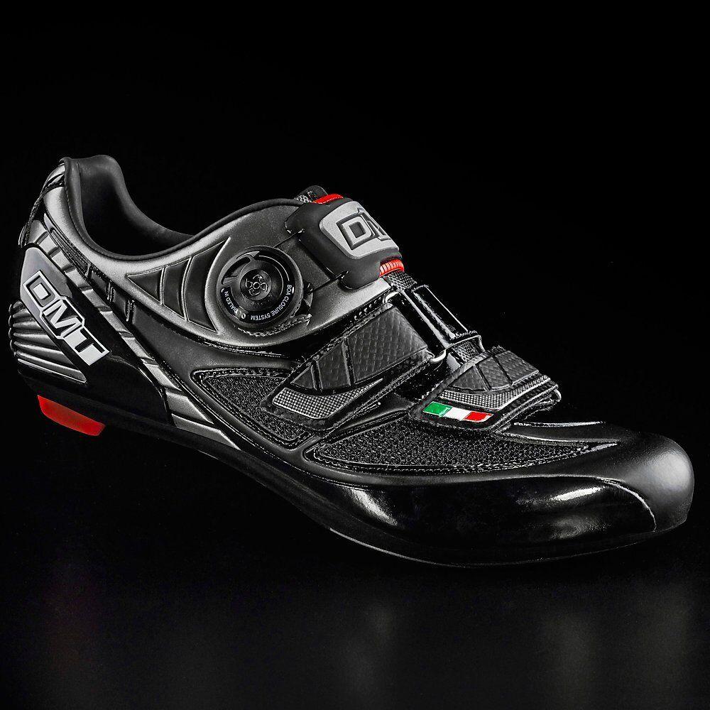 DMT DMT DMT scarpe bici corsa bike road scarpe nero nere PEGASUS BOA 41 EU USA 8 e03f1a