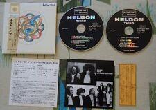 Heldon - Japan Mini LP CD - Third - Electronic Drone Captain Trip CTCD-533/534