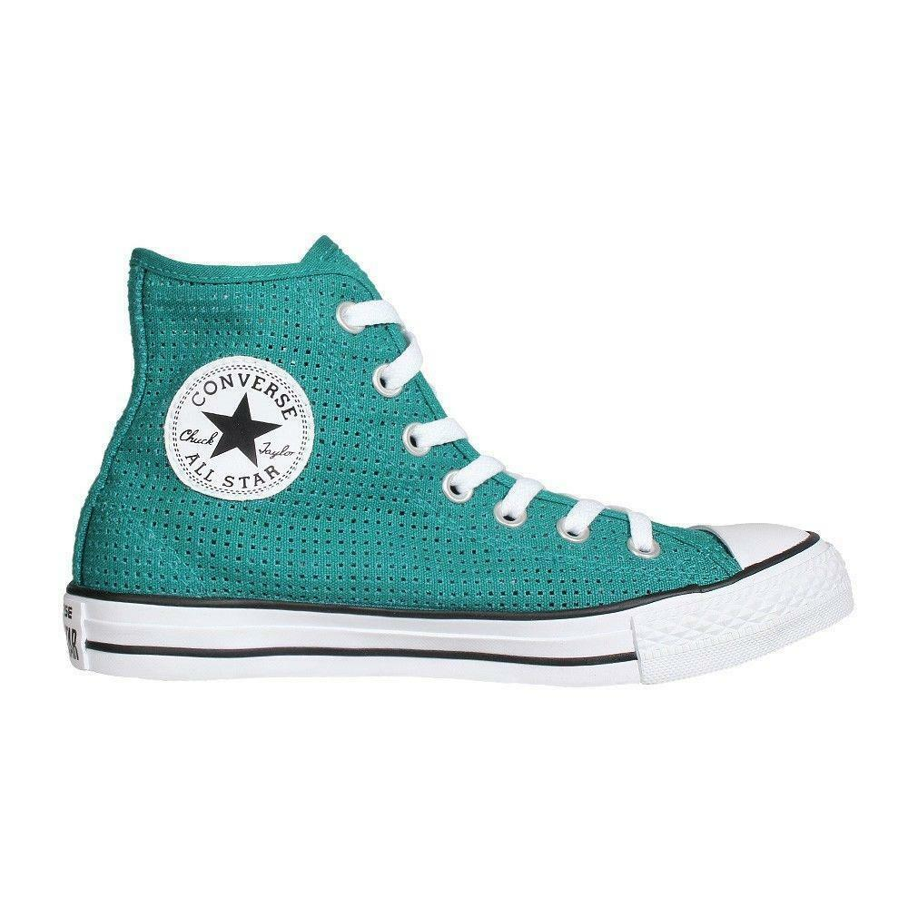 CONVERSE CHUCK TAYLOR ALL STAR CT AS HI PERFORATED 551627F REBEL TEAL/WHITE/BLK