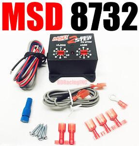 Details about MSD 8732 MSD Ignition 8732 Black Digital 2-Step Rev  Controllers Multi-Step RPM