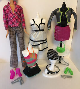 Stunning Collector Fashion Muse Barbie Doll Clothes Shoes 16 Items Bundle Lot 2 Ebay