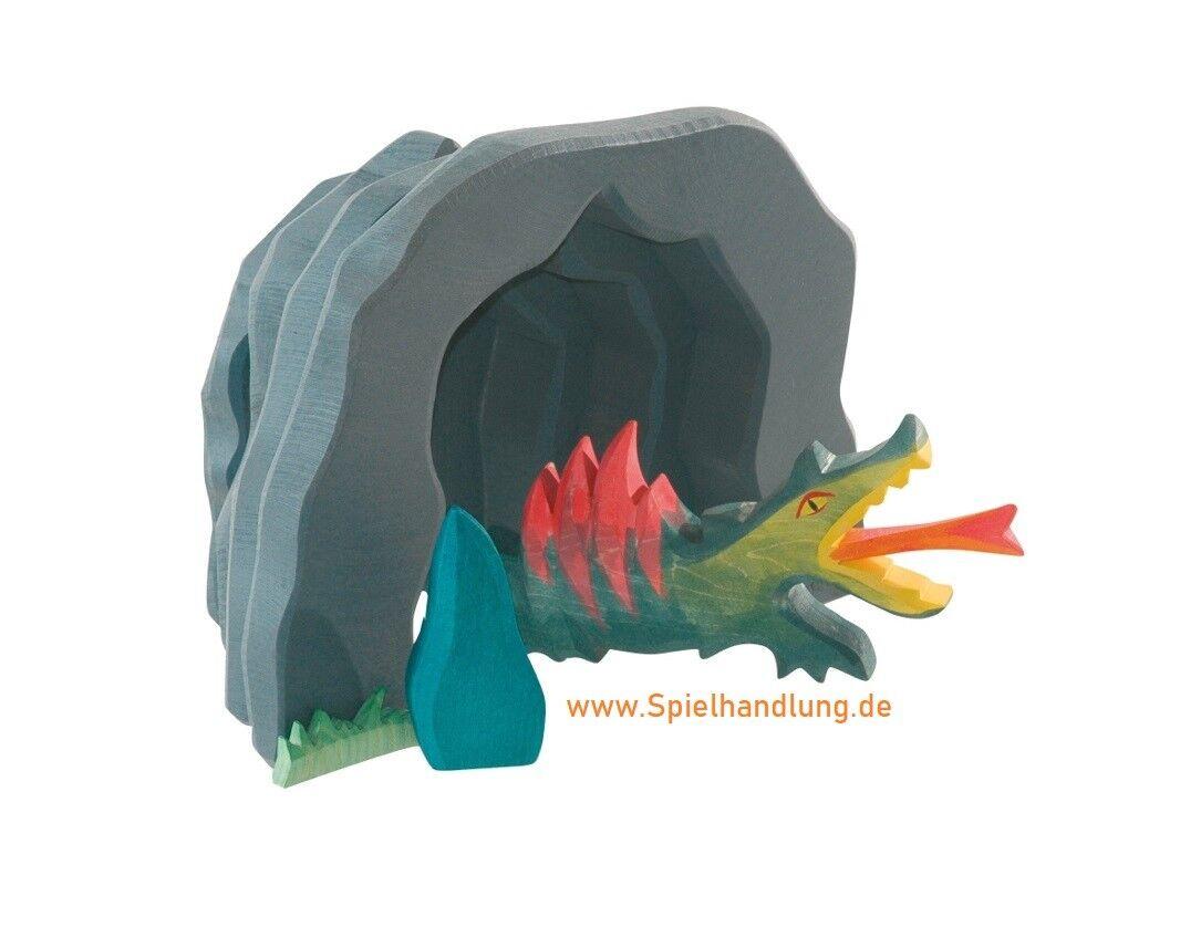 Ostheimer Geschenk Drachenhöhle groß mit Drache 2-teilig 2-teilig 2-teilig  TOP-Qual. Fachhändler f075fd