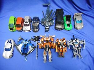 Transformers Live Action Film Lot de 13 Complete Voyager Voyager Dinobots & More