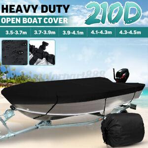 AU-Waterproof-Trailerable-Heavy-Duty-Open-Boat-Cover-Marine-Grade-210D