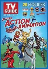 TV Guide Spotlight: Super Action Animation (DVD, 2014, 2-Disc Set) Kids Movies