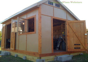 Custom Design Shed Plans 12x16 Medium Saltbox Easy To Follow Shed