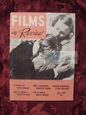 FILMS IN REVIEW May 1963 Charles Laughton 35Th Academy Awards Beulah Bondi