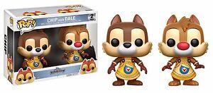 Figurine Kingdom Hearts Puce & Dale Et Pop Funko Rêve Drop Drop 2