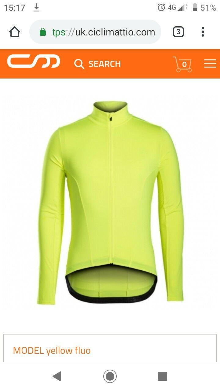 Bontrager Velocis termica manica lunga jersey maillot XXL