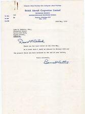 Sir BARNES WALLIS 1887-1979 Scientist/engineer/inventor. Bouncing Bomb. TLS