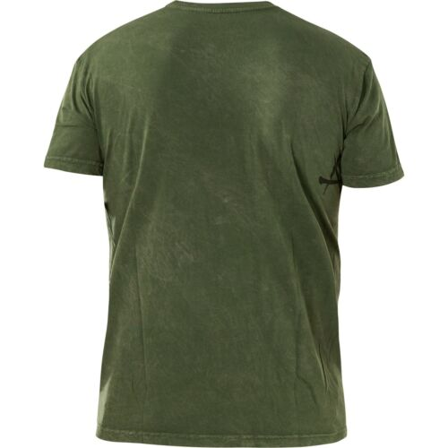 Affliction T-Shirt Ghost Army Green