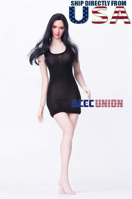 PHICEN 1//6 Seamless Figure Body Brown Hair Asian Beauty Doll Set SHIP FROM USA