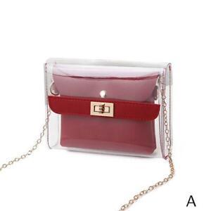 Women-PVC-clear-bag-satchel-bag-Fashion-Transparent-Shoulder-Crossbody-Bags-Ladi